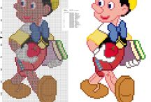 Point de Croix Pinocchio
