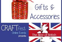 #CRAFTfest - Gifts & Accessories Category - Sept 2016 / International sellers with stalls in the Gifts & Accessories category of the September #CRAFTfest Event share with us their creations. http://www.craftfest-events.com/uk-events.html and http://www.craftfest-events.com/pride-of-america-form.html