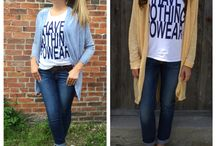 Graphic tees and why we love them! Make a statement without saying a word. Best part is they are so easy to dress up or dress down with a few simple wardrobe changes