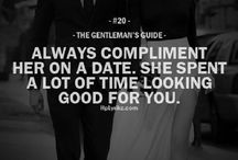 The gentleman's guide