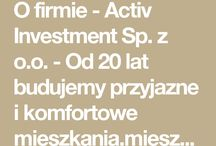 O Firmie ACTIV