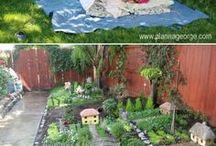 Garten Spielzeit