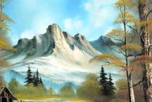 Bob Ross and Kevin Hill / by Vigdis Larsen