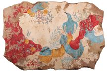 Minoan Greek Frescos - Knossos / Custom Handcrafted Fine Art Replicas of Minoan Frescoes from the Ancient Greek Isle City of Knossos. Each is meticulously handcrafted resulting in a custom, one-of-a-kind work of ancient art for you to cherish and enjoy for years to come. Many sizes, finishes and images are available. http://ancientartifice.com