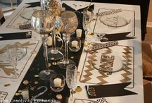 dining table scapes / by Vickie Boyer