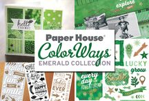 ColorWays Emerald Collection / Emerald is an organic and happy-go-lucky curation of green.
