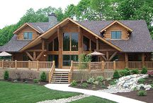 Rustic Homes and Retreats / Ideas for the home and/or retreat center I would love to build.