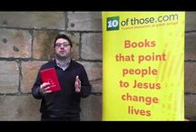 Book Plugs / Short videos recommending great books