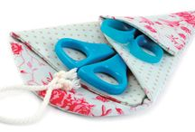 Sewing notions - needle cases, kits and pincushions