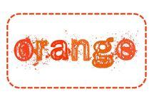 C'est orange / Orange