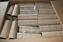 Toilet Paper & Paper Towel Tube Crafts / I sell empty cardboard toilet paper tubes & empty paper towel tubes in my eBay store.  There are links on this board to my listings.  I've also included several ideas of things to do with these little jewels.  Recycle!  Save the earth!  Be crafty and organized!  Plant a garden! / by The Apple Barrel