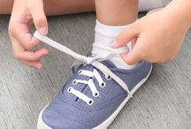 easy way to tie shoes for kids