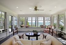 Sunroom / Sunrooms, conservatories and other amazing spaces that bring the outdoors indoors.
