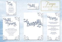 2015 Collection | Simply You / The new collection from Lemon Pie Wedding Stationery for 2015. Designs are based on different themes and style of wedding day.