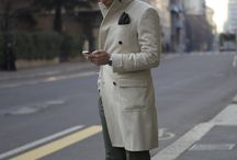 "MERANO COAT / Fabio Attanasio's blog post ""MERANO COAT"" at his blog ""The Bespoke Dudes"" where he wears an elegant light-coloured coat with a good combination."