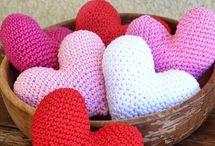 háčkované srdce
