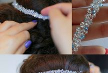 Bridal Hair Accessories / Handmade Bridal Hair Accessories made with Swarovski Elements. Most of the pieces are unique headpieces. You can visit our web site for more models: www.madammebijoux.ro .