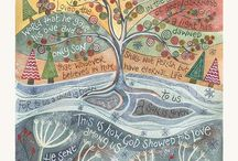 New Christmas cards / New Scripture filled Christmas cards from Hannah Dunnett