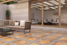 piso para exteriores
