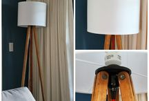 Lighting , lamps  shades and DIY projects