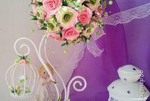 цветы и топиарии