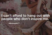 GIRL BOSS♕ / Success & Inspiration quotes for girls nd women♕
