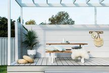 Backyard roof