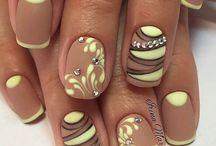 дизайн ногтей пошагово