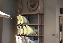 Rope shelves