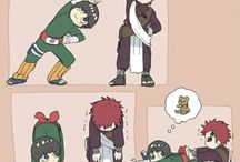 Gaara and Lee