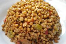 Kara buğday pilavı ve pilavlar