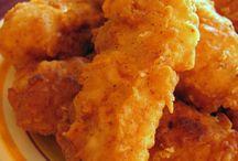 Recipes: Chicken, Rabbit & Fish