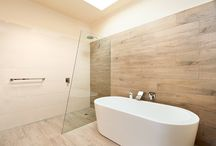 timber tiles. what do you think? / Porcelain timber wood effect tiles for bathrooms and kitchens.