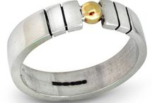 Unusual Wedding Rings / At Nude Jewellery we offer a wide range of wedding rings to suit every taste. Our wedding rings are handmade to order and in-store we have a range of inspiration for a more contemporary wedding band