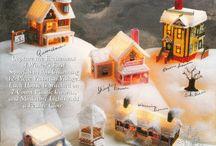 Victorian winter village
