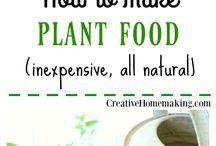 Home: Plant food & fertilizers