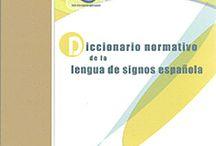 Libros sobre el lenguaje de signos para entenderse las personas sordomudas. Libros sobre la sordera / Librería Central Librera calle Dolores 2 Ferrol Tfno  981 352 719 Móvil 638 59 39 80 Libros, DVDs, etc. para personas con Discapacidad Auditiva