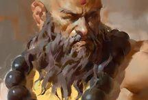 Fantasy Monk