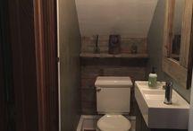 Restroom Under Stairs