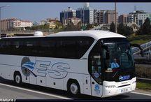 Kullandığımız otobüsler
