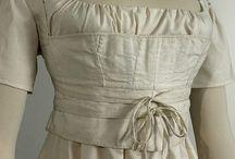 19th century : 1800-1830 corsets