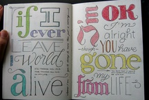 Hand lettering  / by Hey Donna