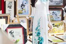 Вьетнамский национальный костюм «аозай»