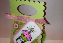 Crafts I have made / These are items I have already made. For those that don't papercraft, they are also available for sale. / by Tina Luntsford Rucker