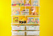 Kids storage / by Andi Mitchell