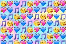 Emoji bakrund