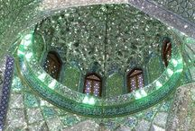 Mosaic and Mosque