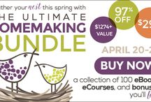 Homemaking Steals and Deals / Homemaking steals and deal, timed offers and coupon codes