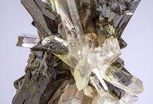 Minerals, rocks