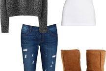 Fall/winter shopping board. / clothes for fall/winter